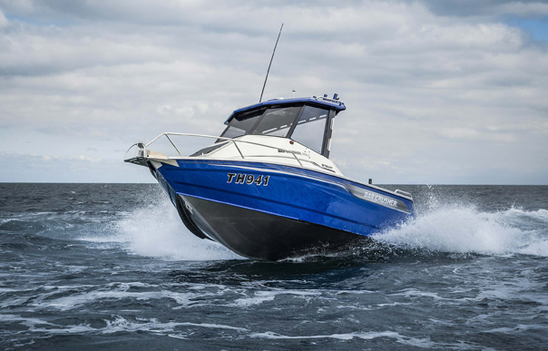 bar crusher 615 hard top fishing boat